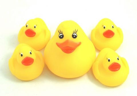 Griptight - Bath Toys (5 Bath Duck Family)